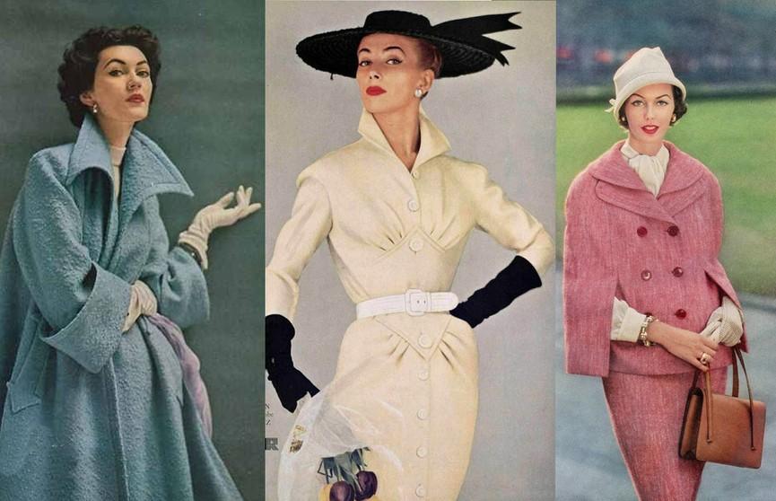 Фактурность, женственность и изящность: что было в моде в период от конца 40-х гг. до 1959 года