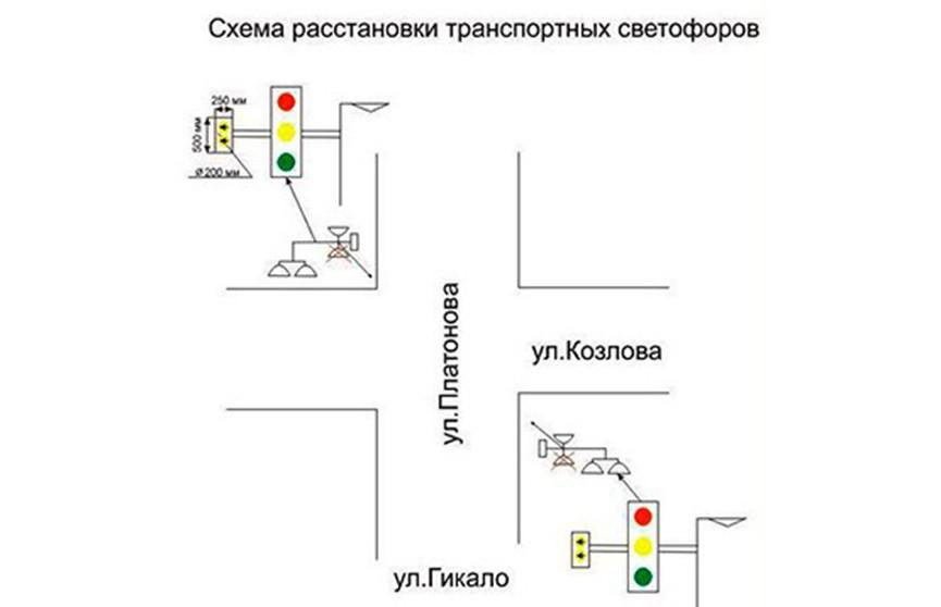 Экспериментальные светофоры установят в Минске