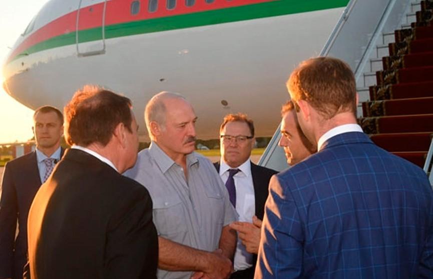 Александр Лукашенко находится с рабочим визитом в Сочи