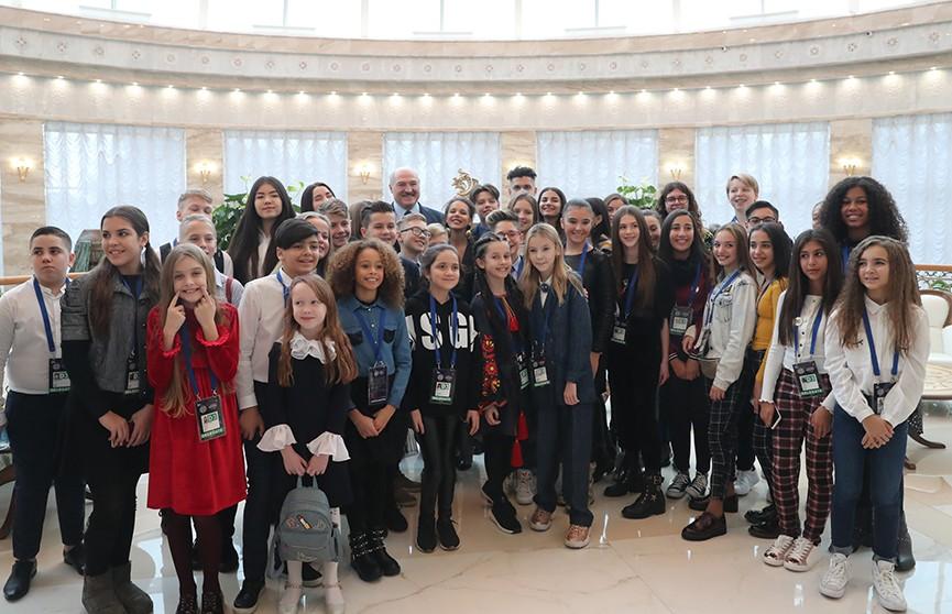 Детское «Евровидение-2018»: Александр Лукашенко дал напутствие юным артистам со всей Европы