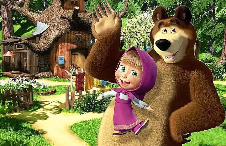 Мультсериал «Маша и Медведь» претендует на звание самого востребованного детского шоу в мире