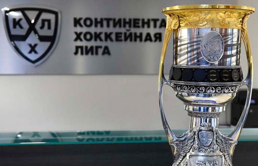 Кубок Гагарина прибыл в Минск. Где его посмотреть?