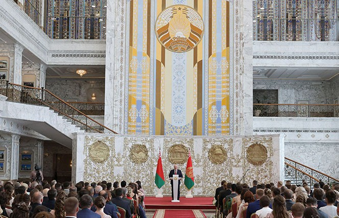 Александр Лукашенко открыл Республиканский бал выпускников