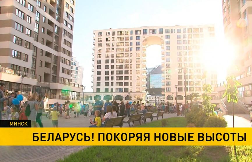 Не только спорт, но и бизнес: сербские спортсмены, а также президенты НОК Боснии и Герцеговины и Черногории посетили «Маяк Минска»