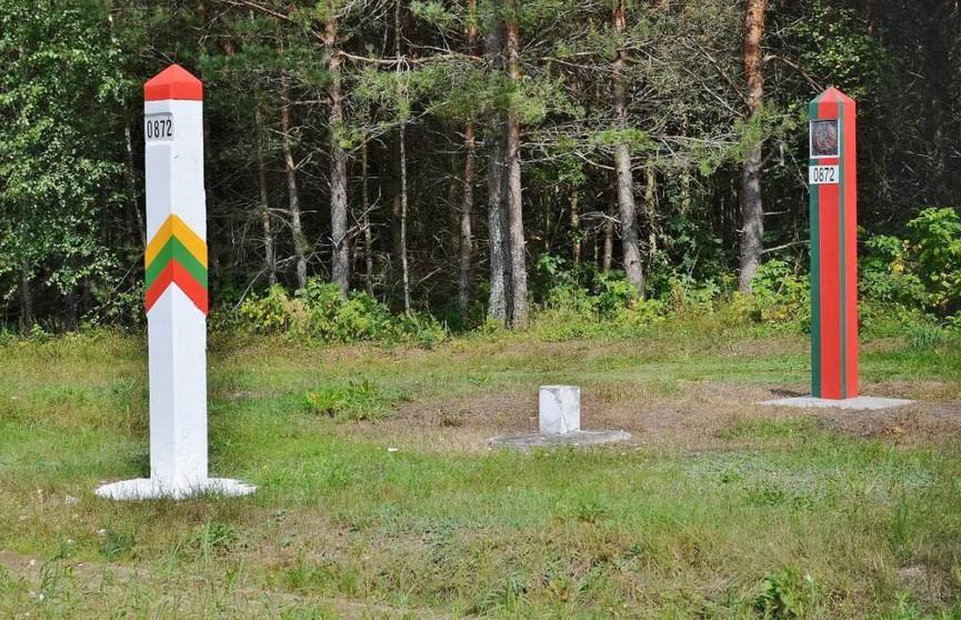 Пограничникам пришлось применить оружие чтобы задержать нарушителя на границе с Литвой
