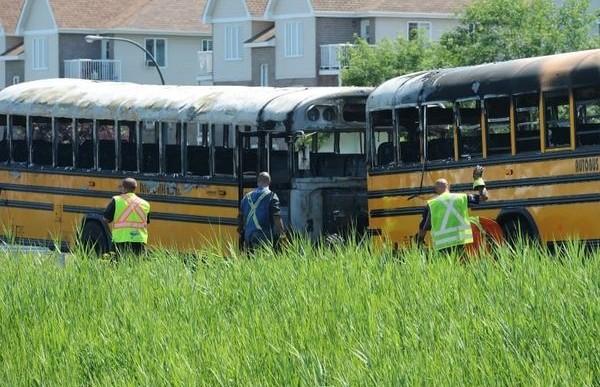 ДТП со школьными автобусами в Канаде: 69 пострадавших