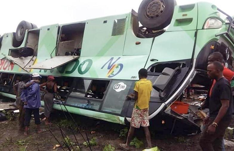 Страшное ДТП в Конго: 30 человек погибли, 18 получили серьезные ожоги