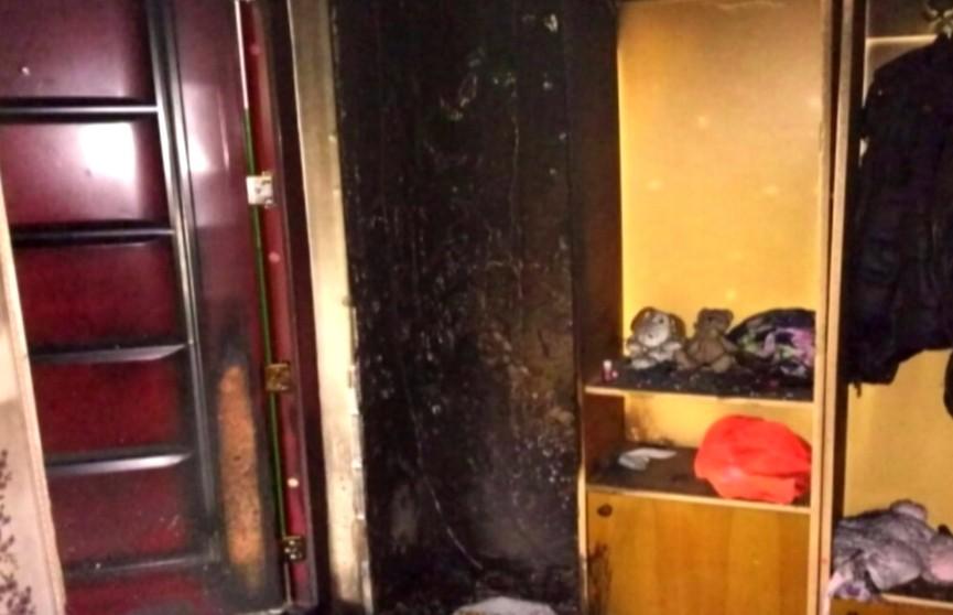 Из квартиры дым валил, ребёнок у окна о помощи просил