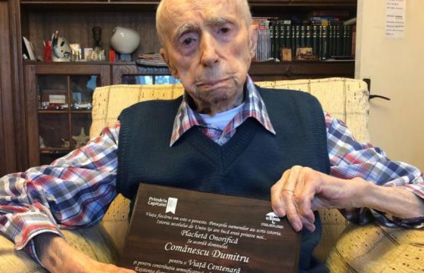 111-летний житель Бухареста стал старейшим мужчиной в мире