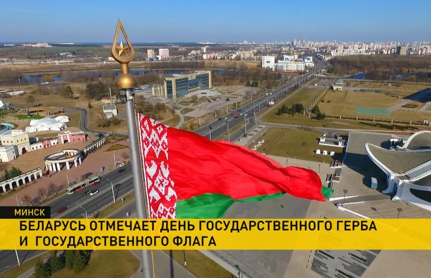То, что вы точно не знали: какая площадь у главного флага Беларуси, кто придумал для него орнамент и где хранятся эталоны?