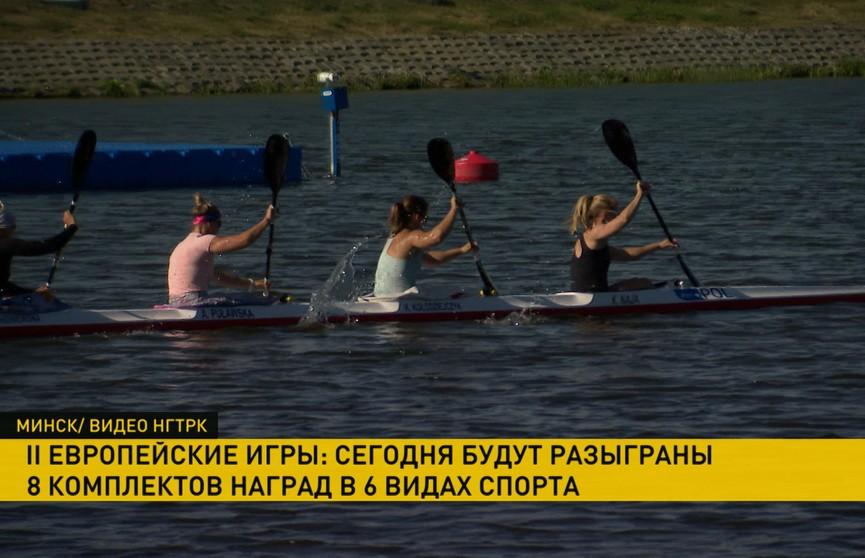 Белорусы победили в предварительных заездах на гребном канале в Заславле