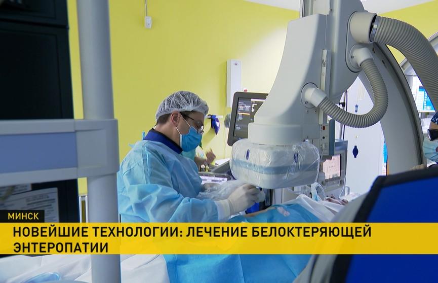 В Беларуси внедряют новую методику лечения детей с пороком сердца