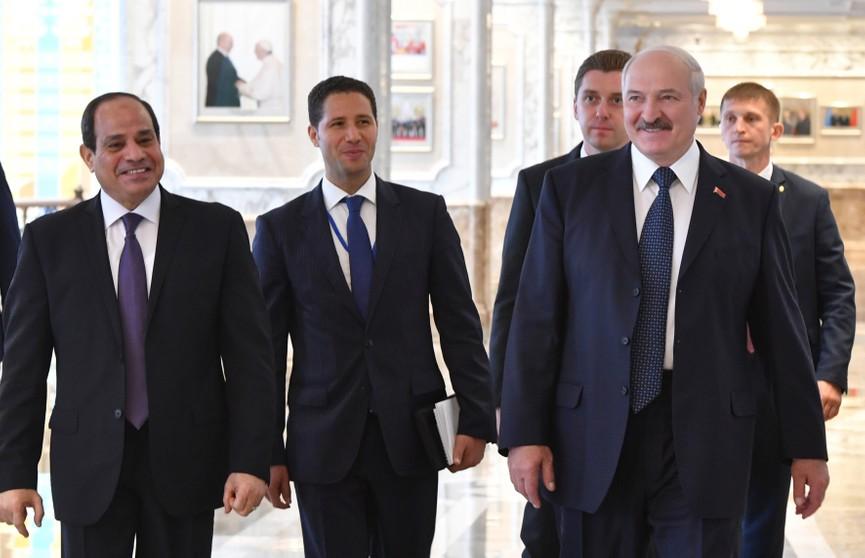 Александр Лукашенко: Товарооборот Беларуси и Египта достиг отметки в 100 млн долларов. Но это не предел!