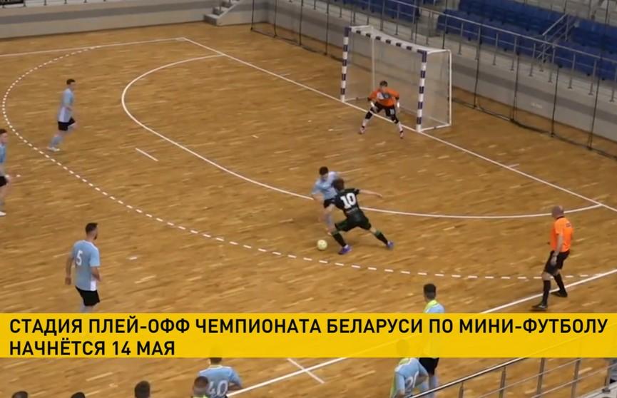 Чемпионат Беларуси по мини-футболу: матчи плей-офф стартуют 14 мая