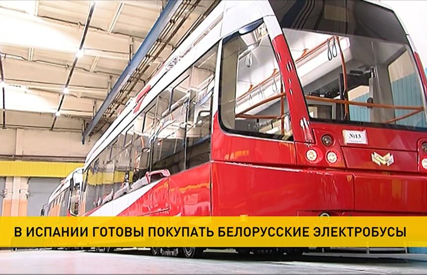 Автопарк Барселоны обновится белорусской техникой