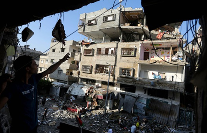 Израиль нанёс удар по сектору Газа
