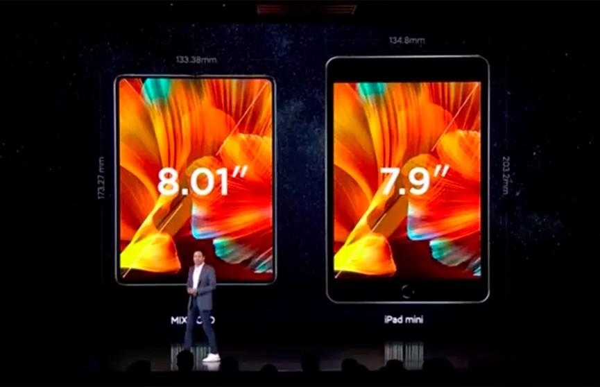 Xiaomi представила свой первый смартфон со складным экраном