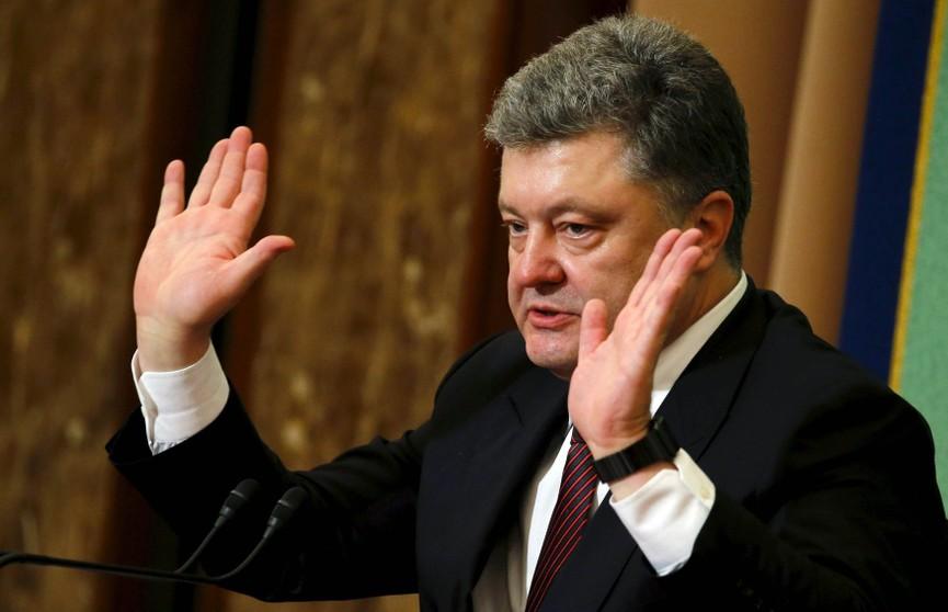 Порошенко подписал закон об исключительном статусе украинского языка