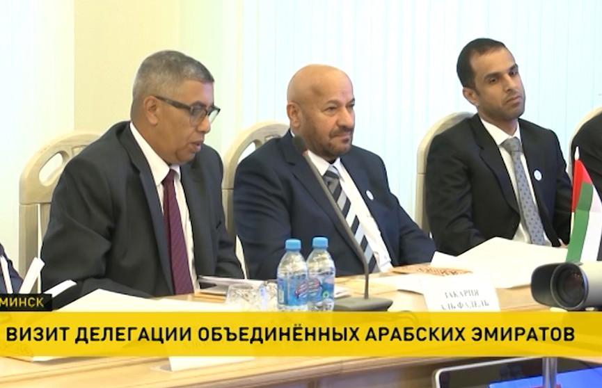 Делегации Федеральной таможенной администрации Объединённых Арабских Эмиратов посетила Минск
