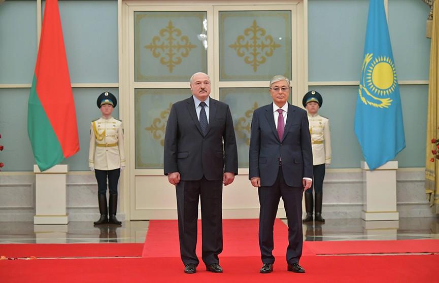 Официальный визит Лукашенко в Казахстан: Минск и Нур-Султан наметили новые проекты для наращивания сотрудничества