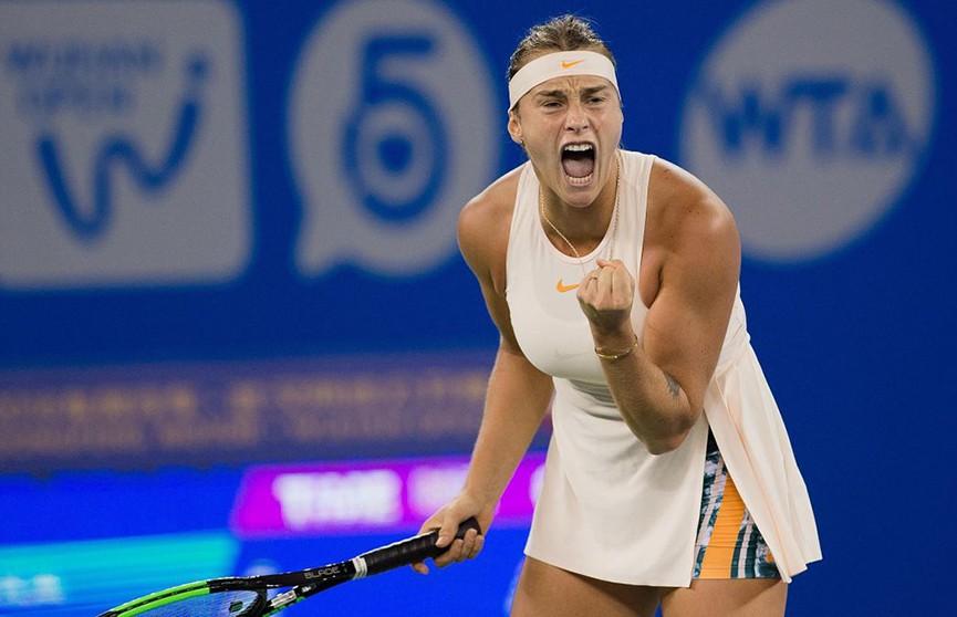 Арина Соболенко вошла в десятку лучших по версии WTA