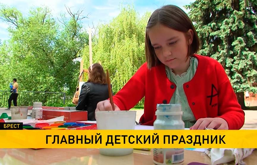Международный День защиты детей: детский праздник во Дворце Независимости и визит вице-премьера в детскую больницу
