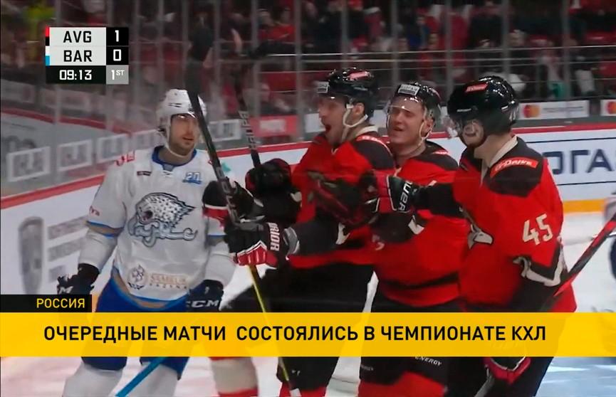 КХЛ: в Москве «Динамо» уступило СКА