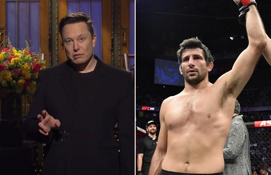 Илон Маск ответил на вызов бойца UFC