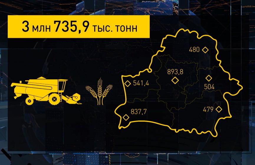 Урожай-2021: в закромах уже 3,7 миллиона тонн зерна