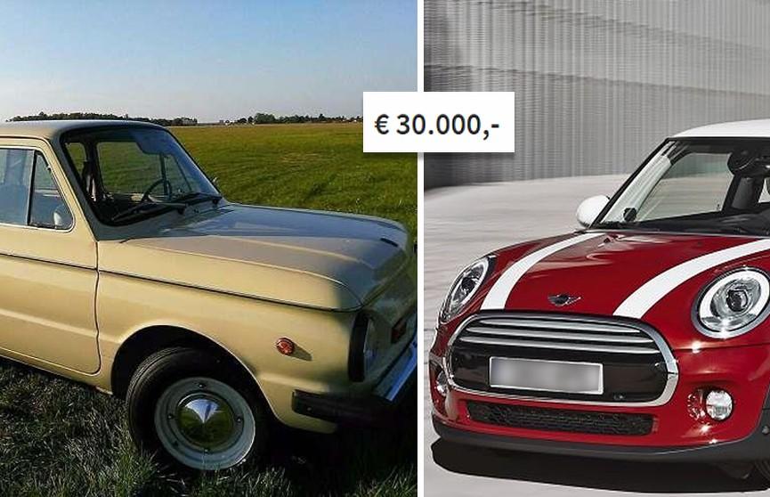 Как новый Mini Cooper. В Германии продают «Запорожец» за 30 тыс. евро