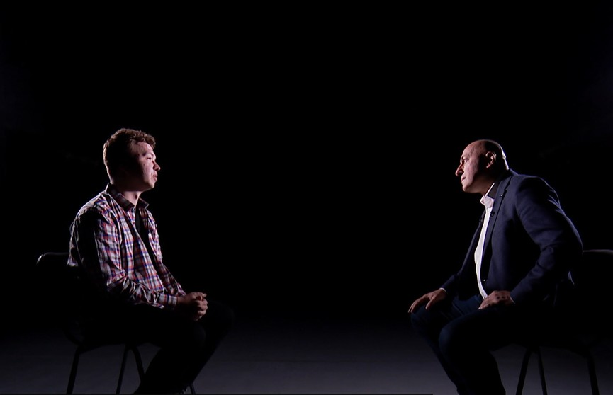 Интервью Романа Протасевича телеканалу ОНТ на первом месте в трендах YouTube