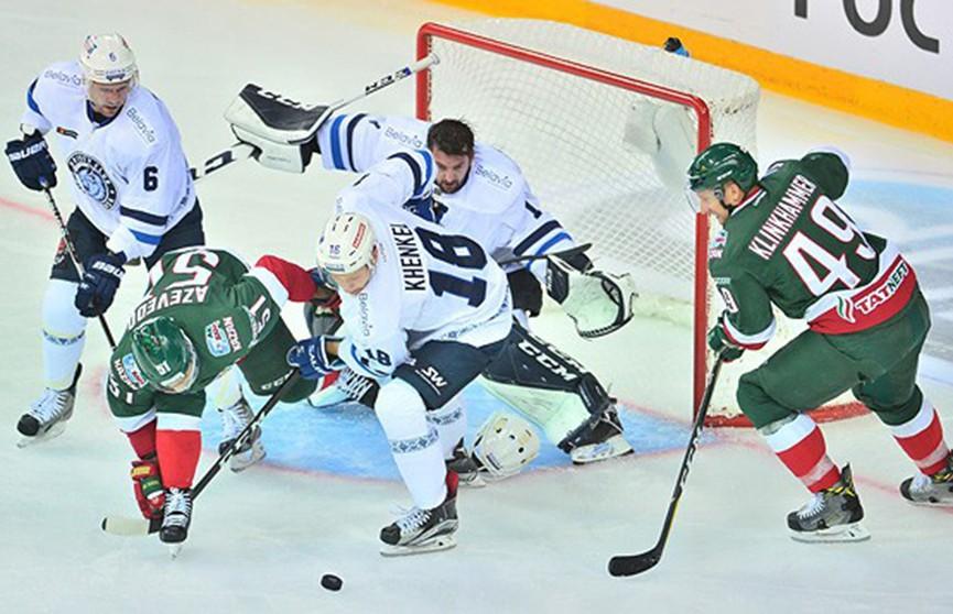 Игроки минского «Динамо» неудачно стартовали в новом сезоне КХЛ