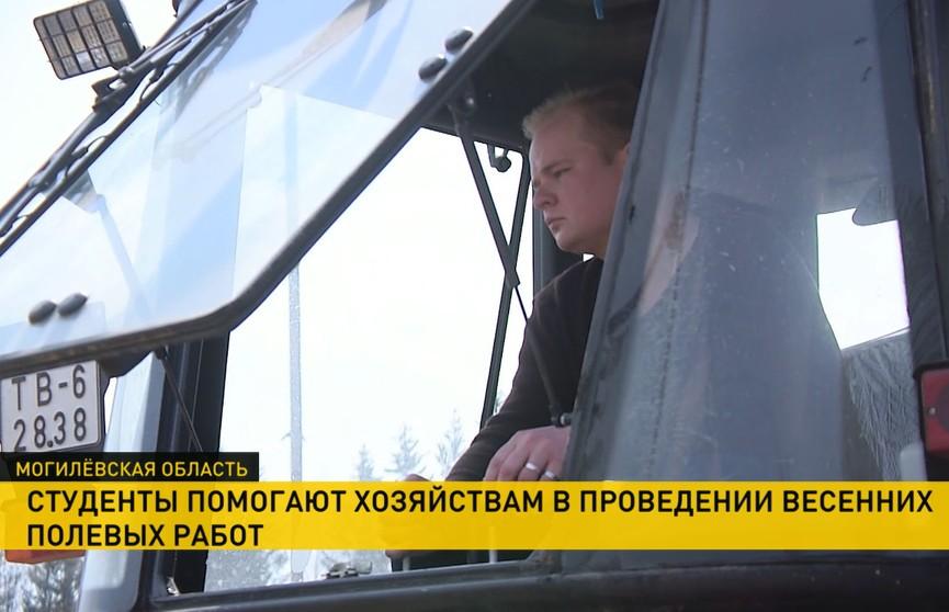 Мехотряды из Белорусской сельхозакадемии вышли в поля вместе с аграриями