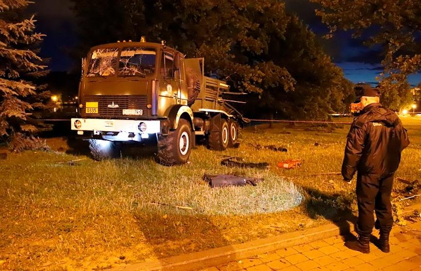 По делу о взрывах фейерверков 3 июля в Минске задержаны два человека