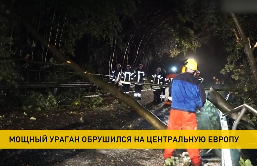 Центральная Европа приходит в себя после мощного урагана: есть погибшие