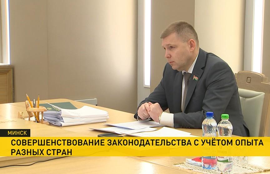 Совершенствование законодательства обсуждали на заседании постоянной комиссии Межпарламентской Ассамблеи СНГ
