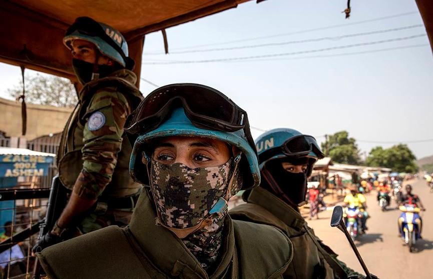 Трое миротворцев ООН погибли при нападении повстанцев в ЦАР