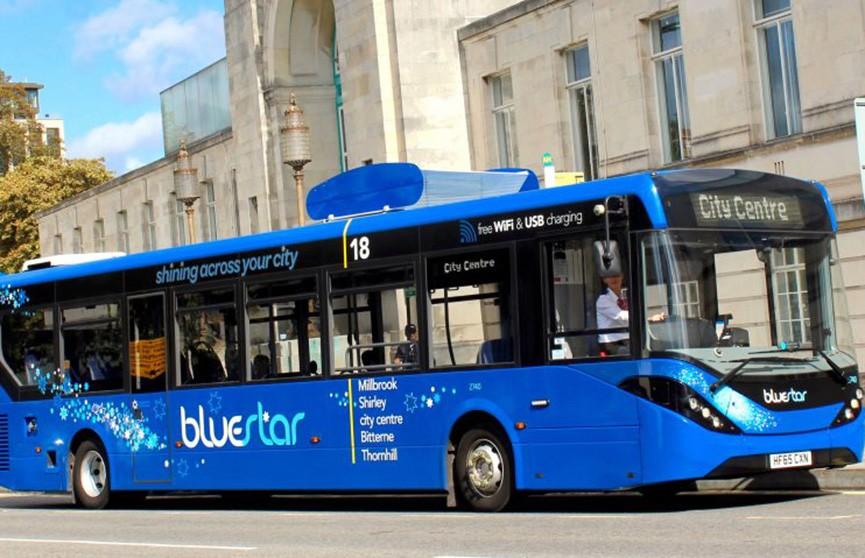 Автобусы будут очищать воздух в Британии