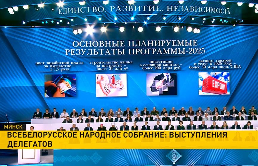Головченко: Только объединив усилия, мы достигнем амбициозных задач и построим сильную Беларусь