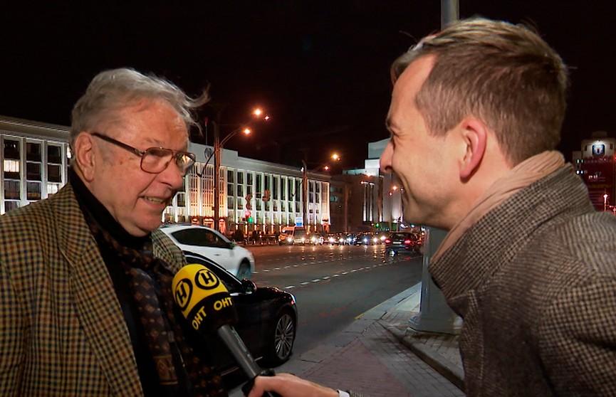 Глава национального конкурса «Лістапада» Кшиштоф Занусси приехал  в Минск