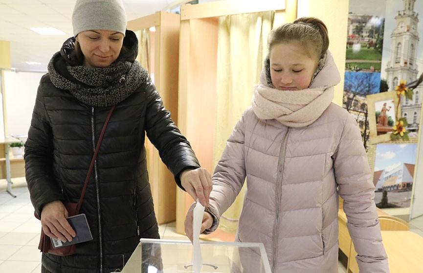 Голосование в регионах: как день парламентских выборов проходит в Витебске