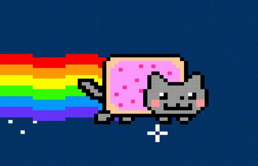 Гифку с мемом Nyan Cat продали на онлайн-аукционе за $587 тысяч