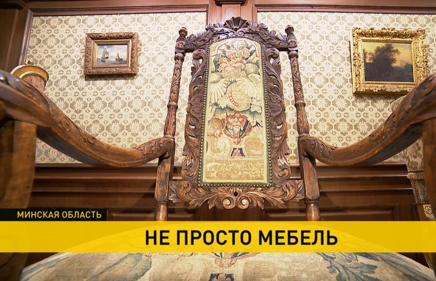 Оригинальная выставка стульев и кресел XVIII-XX вв. открылась в Несвижском замке