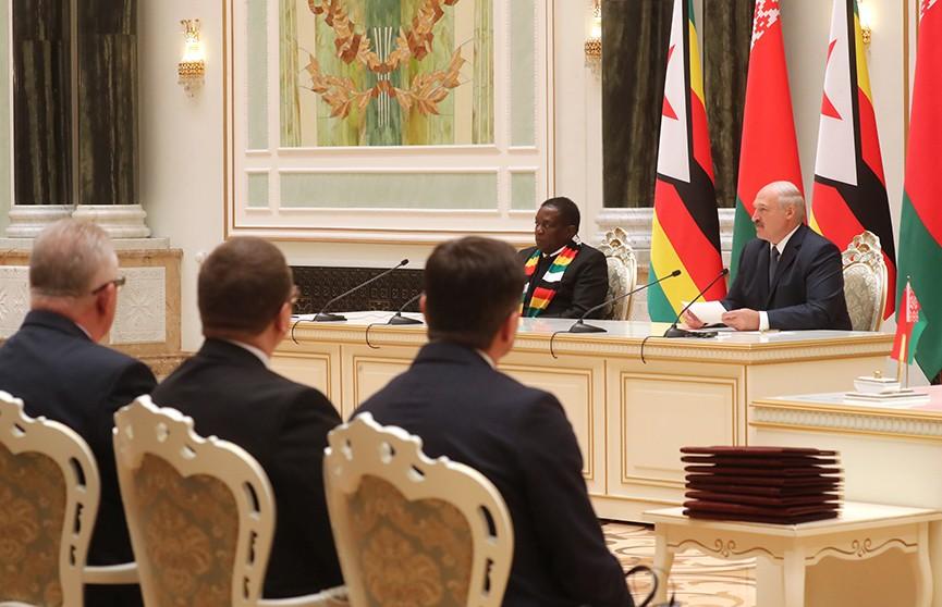 Итоги переговоров президентов Беларуси и Зимбабве