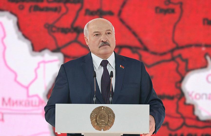 Лукашенко: белорусский народ формировался в единую нацию в немыслимых испытаниях