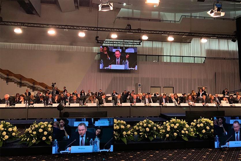Европе нужен новый «план Маршалла»: Макей выступил на Совете министров ОБСЕ