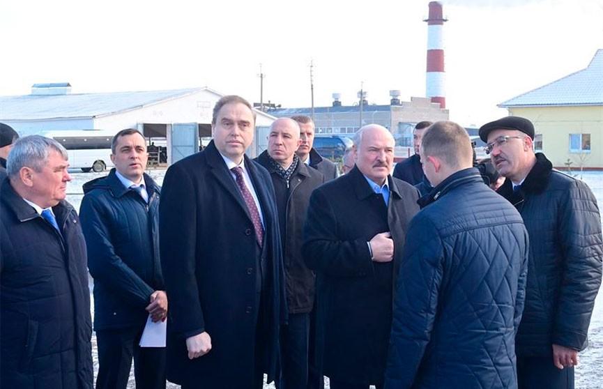 Рабочая поездка Лукашенко в Гродненскую область: Президент посетил «Молочный мир»