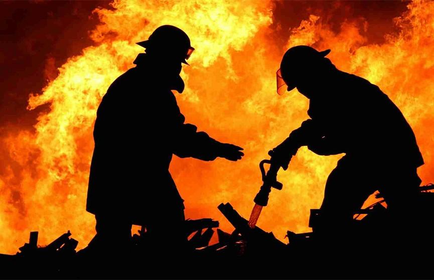Два человека стали жертвами пожаров в Минской области за минувшую ночь
