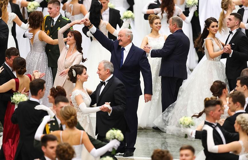 Первый Венский бал с участием Александра Лукашенко прошел во Дворце Независимости