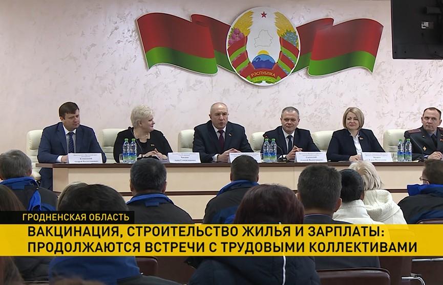 Юрий Караев посетил предприятие «Автопровод» в Щучине